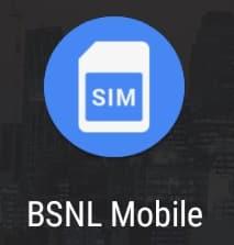 BSNL Mobile APP SIM ICON