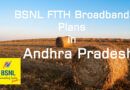 BSNL Bharat Fiber Plans in AP
