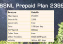Revised BSNL 2399 Plan Details Table