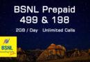 BSNL 499 and BSNL 198 Plans